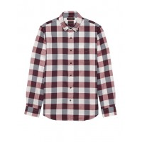 Slim-Fit Luxe Flannel Shirt
