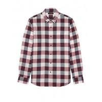 Slim-Fit Brushed Twill Shirt