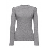 Fitted Crew-Neck Sweater