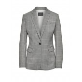 Long and Lean-Fit Washable Wool Blend Blazer