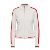 Varsity Track Jacket Sweater