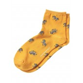 Zebra Bootie Sock