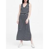 Stripe Soft Ponte Tank Dress