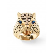 Leopard Stone Ring