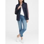 Side-Stripe Utility Jacket