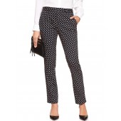Ryan Curvy Printed Slim Straight Pant