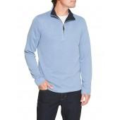 Brushed Half-Zip Pullover