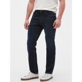 Athletic-Fit Stretch Summer-Weight Dark Jean