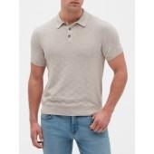 Argyle Sweater Polo