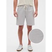 "9"" Pinstripe Deck Shorts"