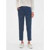 Hayden Stripe Pull-On Tapered Fit Soft Ankle Pant