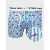 Lobster Stripe Boxer Briefs