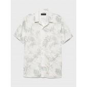 Standard-Fit Camp Shirt