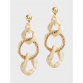 Bone Statement Earrings