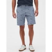 "10"" Aiden Slim-Fit Toucan Print Shorts"