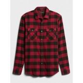 Standard-Fit Flannel Shirt