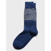 Textured Striped Socks