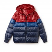 Womens Hooded Quilted Taffeta Jacket
