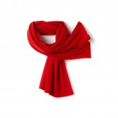 Womens Cashmere Jersey Scarf