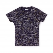 Womens Crew Neck Print T-Shirt