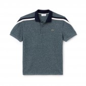 Mens Made In France Regular Fit Cotton Pique Polo