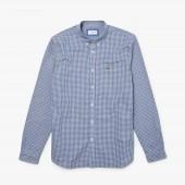 Mens Motion Regular Fit Check Poplin Shirt