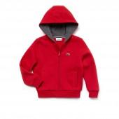 Kids SPORT Tennis Zippered Fleece Sweatshirt