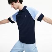 Men's L.12.12 Raglan Sleeved Pique Polo
