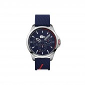 Mens Capbreton Multifunctions Watch with Blue Silicone Strap