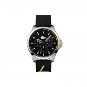 Mens Capbreton Multifunctions Watch with Black Silicone Strap