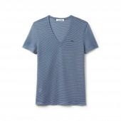 Womens Pinstriped Ottoman T-Shirt