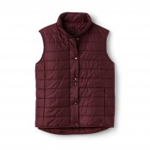 Womens Lightweight Quilted Down Taffeta Vest