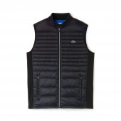 Mens SPORT Water-Resistant Quilted Technical Golf Vest
