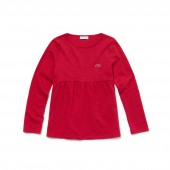 Girls Crew Neck Cotton Jersey T-shirt