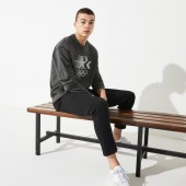 Men's Olympic Heritage Collection By Lacoste Cotton Sweatshirt