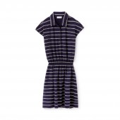 Womens Fitted Polo Dress