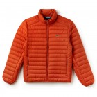 Mens Short Contrast Lining Quilted Jacket