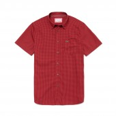 Mens Regular Fit Mini Check Poplin Shirt