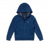 Boys SPORT Zip Technical Fleece Sweatshirt - x Novak Djokovic Off Court Premium Edition