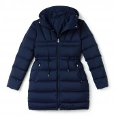 Womens Reversible Hooded Nylon Quilted Jacket