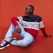 Men's Keith Haring Print Fleece Sweatshirt