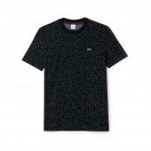 Womens LIVE Crew Neck Leopard Print Jersey T-shirt