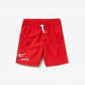 Boys Oversized Crocodile Swim Trunks
