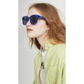 Block Oversize Square Acetate Sunglasses