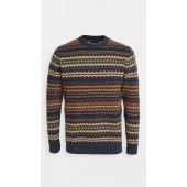 Barbour Case Fair Isle Crew Sweater