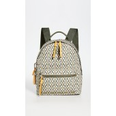 Piper Printed Small Zip Backpack