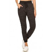 Women's Super Soft Sherpa Fur-Lined Jogger Sweatpants with Pockets