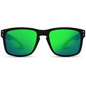 WearMe Pro - 프리미엄 편광 거울 렌즈 클래식 웨이퍼 스타일 선글라스