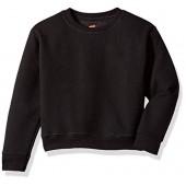 Hanes Big Girls' EcoSmart Graphic Fleece Sweatshirt