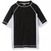 Gymboree Big Boys' Blk White Rashguard